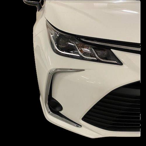 Toyota Corolla (2019-2020) Ön Sis Far Krom Çerçeve