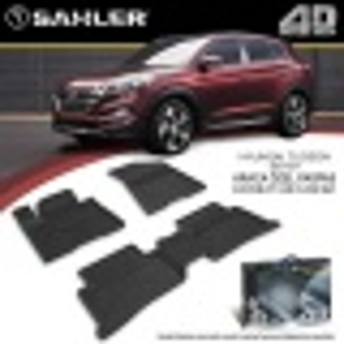 Hyundai Tucson 2016-2020 Araca Özel SAHLER 4.5 D Paspas