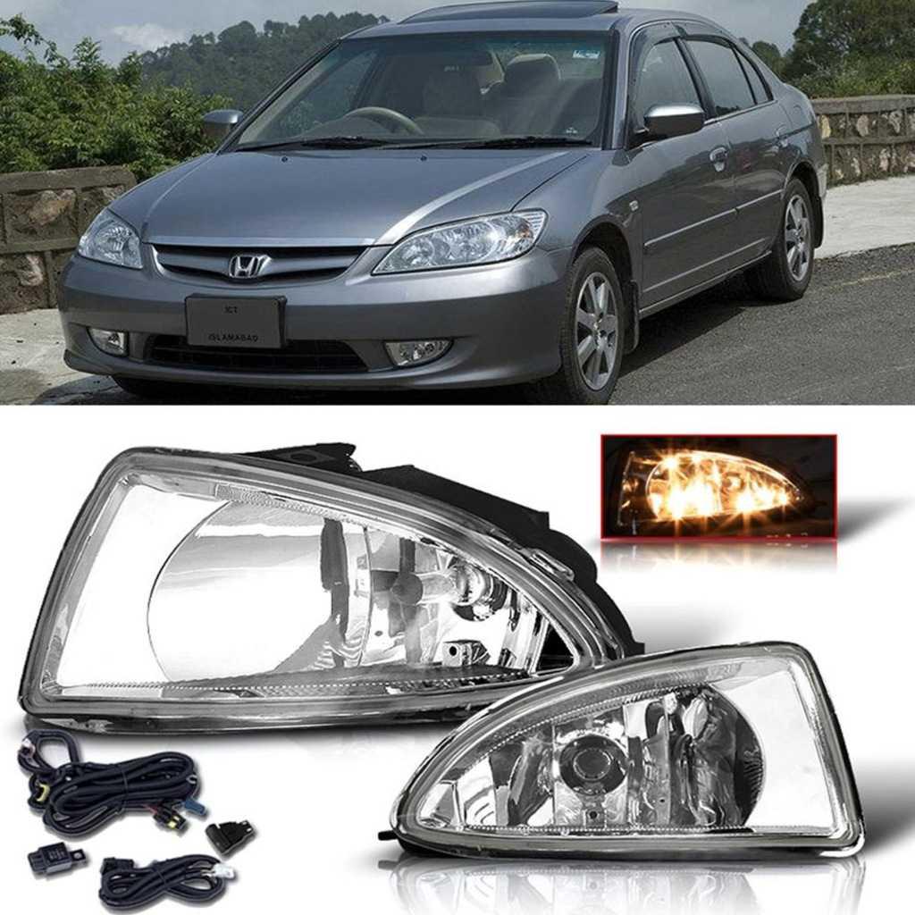 Honda Civic Vtec 2 Makyajlı Sis Farı Seti İTHAL