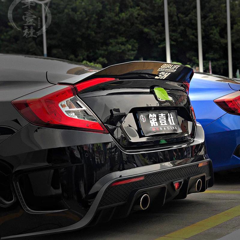 Honda Civic 2016+ JDM Spoiler Boyalı İTHAL