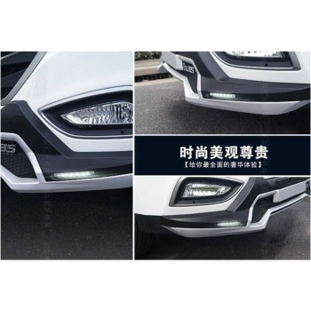 Hyundai iX35 Ön Arka Tampon Koruma Oem Stil İthal Ledli 2009-2017