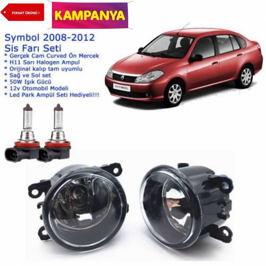 Renault Symbol 2008-2012 Sis Farı Set  ampul hediyeli
