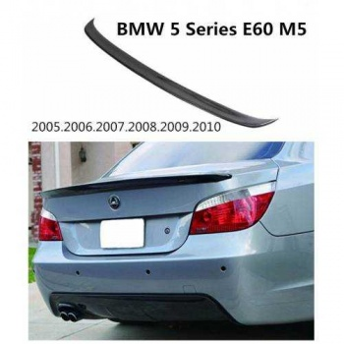 Bmw E60 Bagaj Üstü Spoiler - Spoyler Siyah Piano Black
