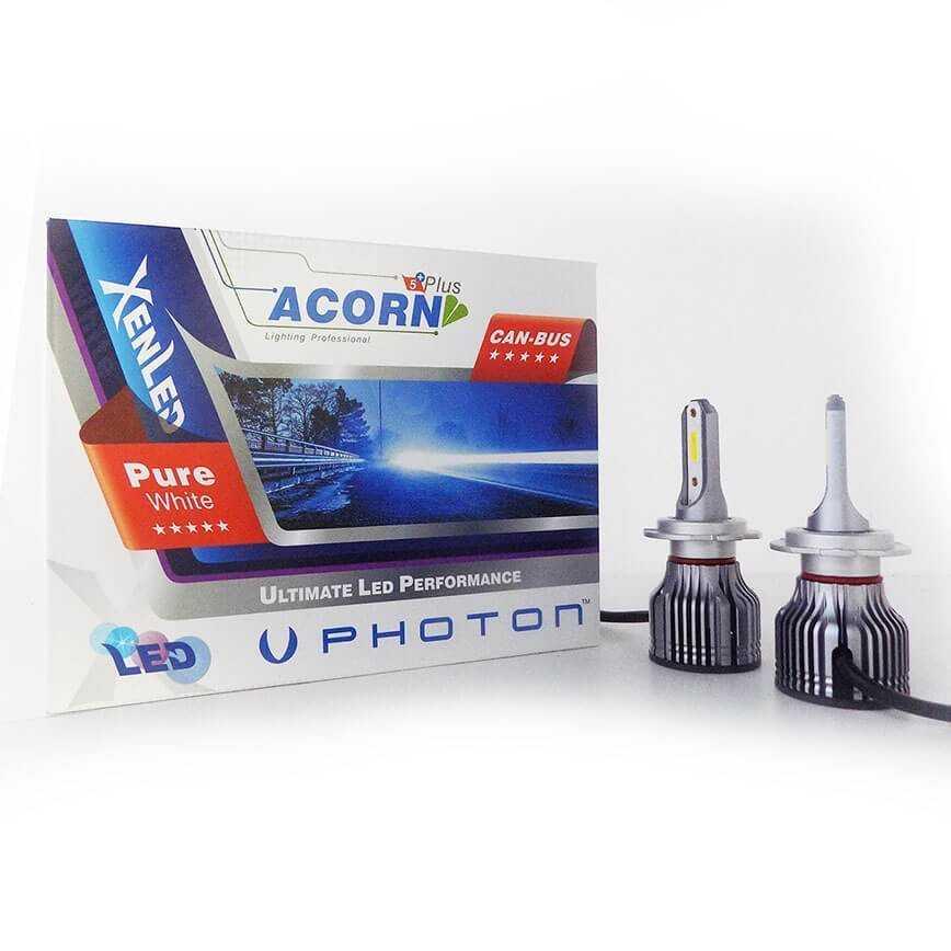 Photon accorn H7 led ampul  h7 led xenon arıza ışıgı yakmaz