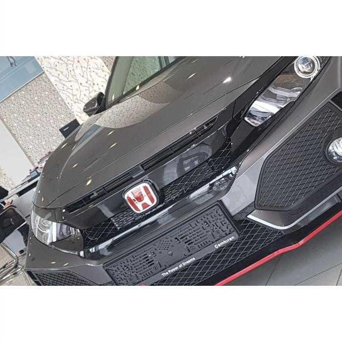 Civic Fc5-Fk7 Ön Arka Kırmızı Logo Seti Honda İthal
