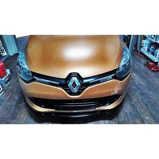 Renault Clio 4 Ön Lip Piano Black Plastik Tam Uyumlu Ön Tampon Ek