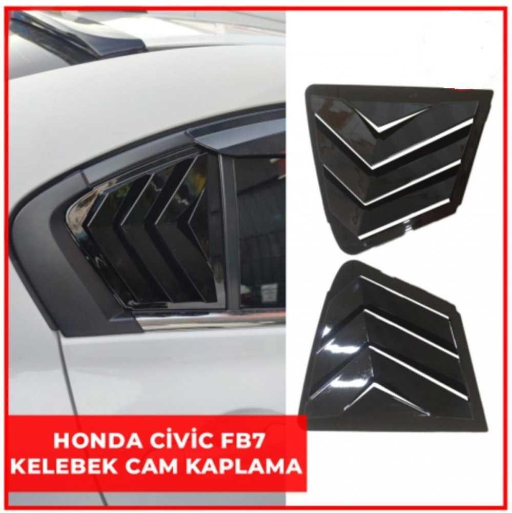 Honda Civic FB7 Kelebek Cam Jaluzisi 2012-2016