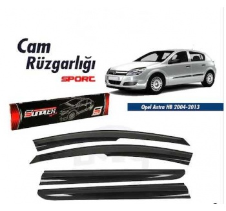 Opel Astra H Sedan Cam Rüzgarlığı Sunplex Mugen Cam Rüzgarlığı