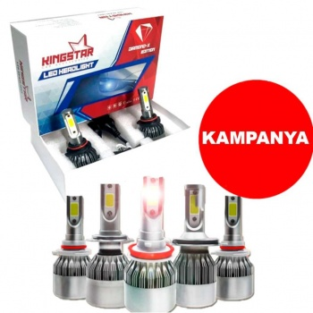 Kingstar Led Xenon Far Ampulü H1-H4-H7-H11
