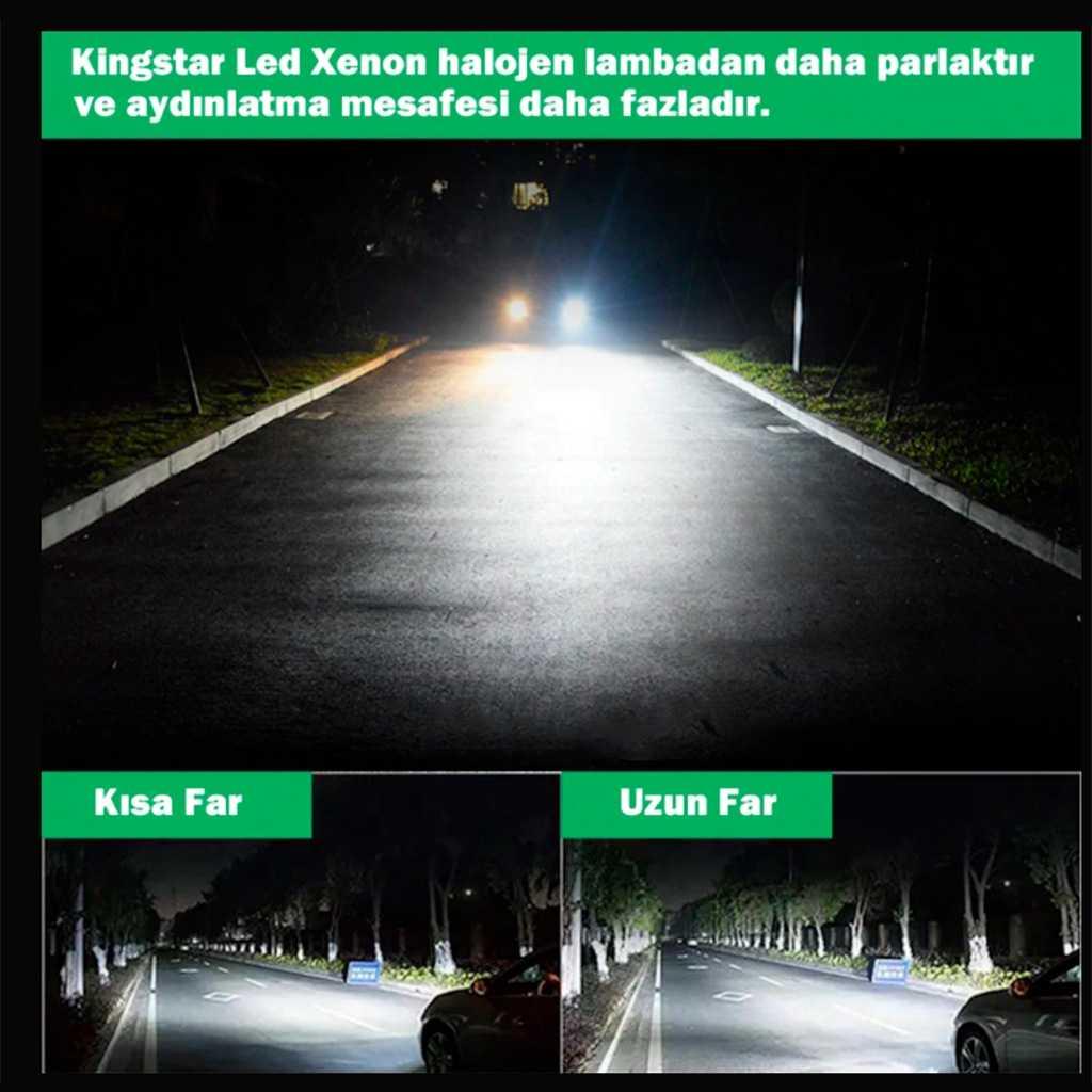 Kingstar Led Xenon Far Ampulü H1-H4-H7-H11