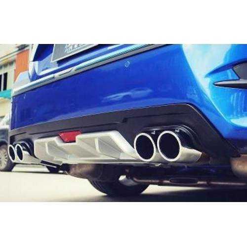 Honda Civic FC5 2016 Sonrası Turbo Arka Tampon Eki Difüzör