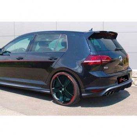 Volkswagen Golf 7 7.5 Oettinger Spoiler Plastik İthal Piano Black