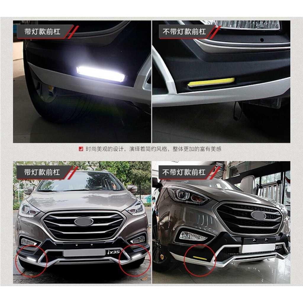 Hyundai iX35 Ön Arka Tampon Koruma Oem Stil İthal LEDLİ 2009-2017