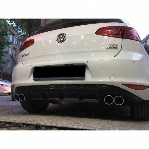 Volkswagen Golf 7.5 R Difüzör 2017 Ve Üzeri R Difizör Parlak İTHA