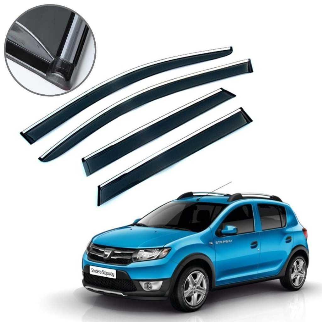 Dacia Sandero Stepway Krom Çıtalı Cam Rüzgarlığı 2013-2019