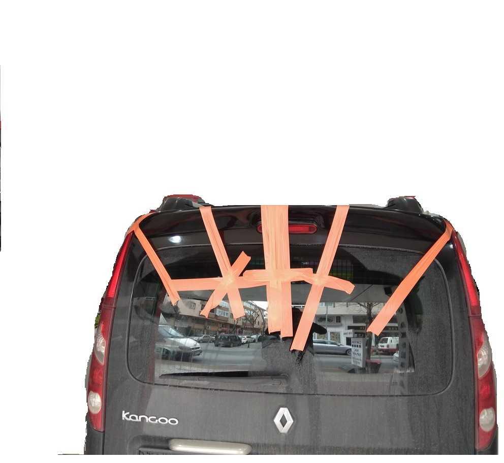 Renault Kango Boyalı Yeni Kasa Spoiler Spoyler
