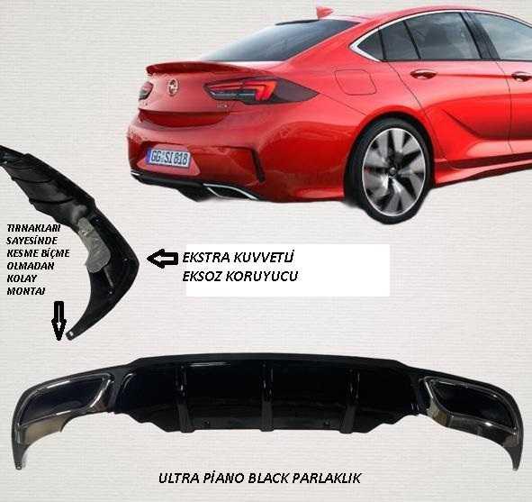 Opel Insignia Tampon Eki - GSI Difüzör İthal 1. Sınıf İTHAL