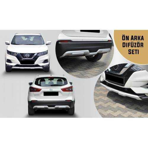 Nissan Qashqai Difüzör Ön Arka Tampon Koruma 2018 2019 2020 İTHAL