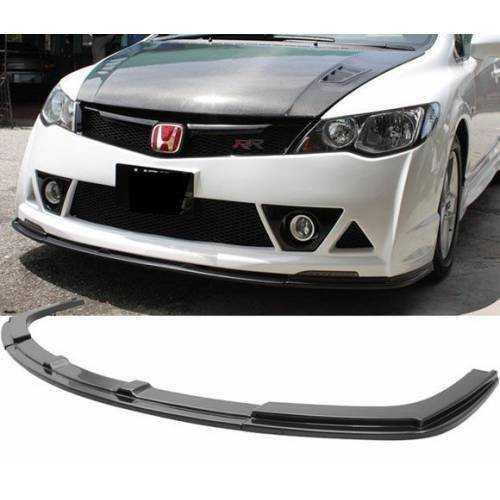 Honda Civic Fd6 Rr Ön Lip Ön Ek 2006-2011 Mugen St Parlak Siyah