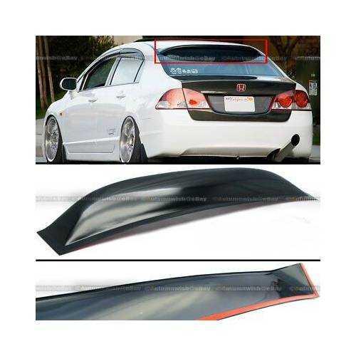 Honda civic 2007- fd6 plastik cam üstü spoon spoiler-spoyler