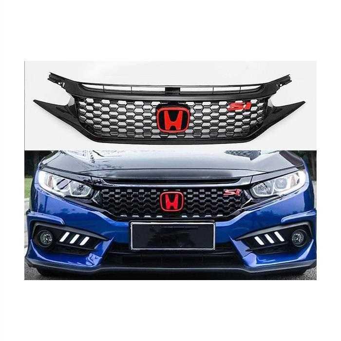 Honda Civic Fc5  Si  Ön  Panjur  Takımı 2016+