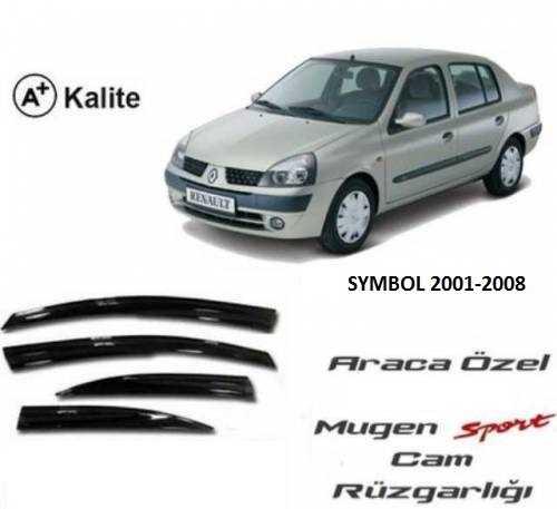 Renault Symbol 2001-2008 Arası Mugen Cam Rüzgarlığı