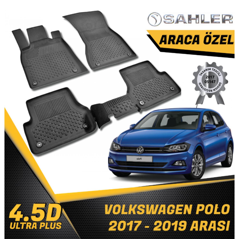 VW Polo 2017-2019 4.5 D Araca Özel Sahler Paspas Takımı