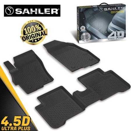 Sahler 4,5D Siyah Mercedes C Serisi W204 2007-2014 Paspas