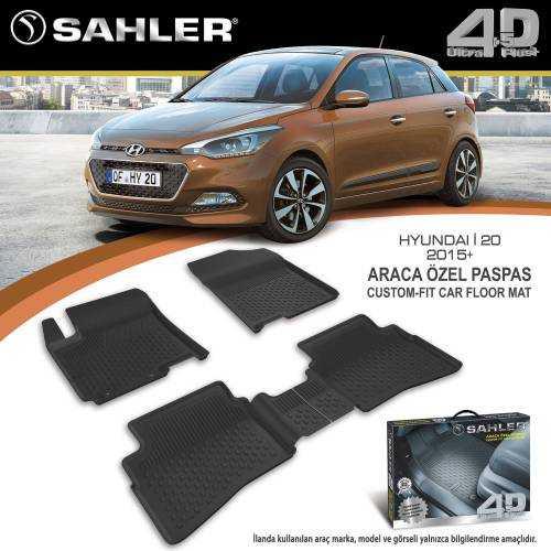 Hyundai İ20 Sahler 4,5D Araca Özel 2015-2020 Paspas