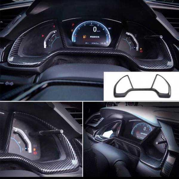 Honda Civic FC5 Gösterge Panel Kaplaması (KARBON)
