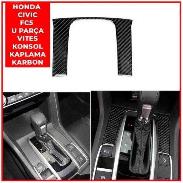 Honda Civic Fc5 U Parça Vites Kaplama (KARBON)