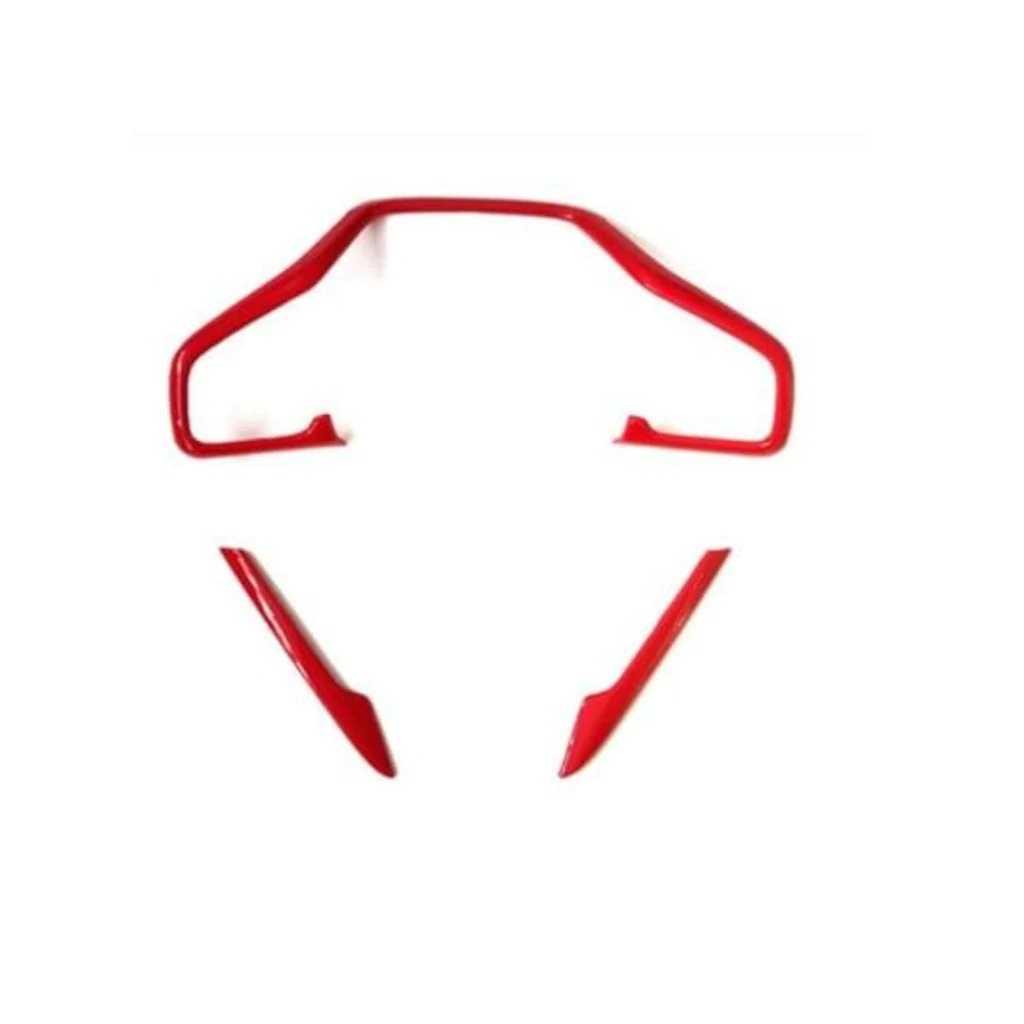 Honda Civic Fc5 Direksiyon Kaplama 3 Parça (KIRMIZI)