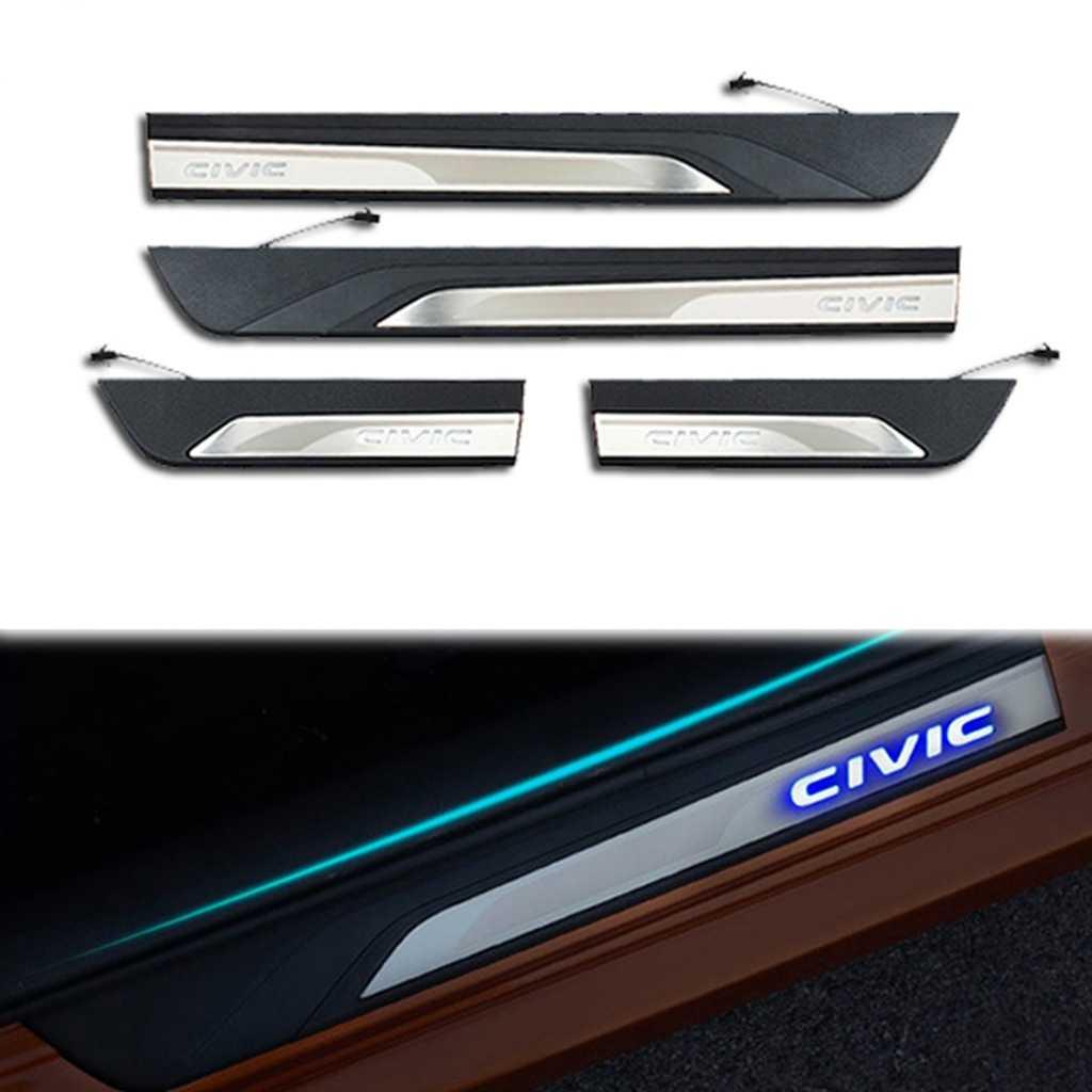 Honda Civic FC5-FK7 Mavi Işıklı Kapı Eşiği 2012-2016