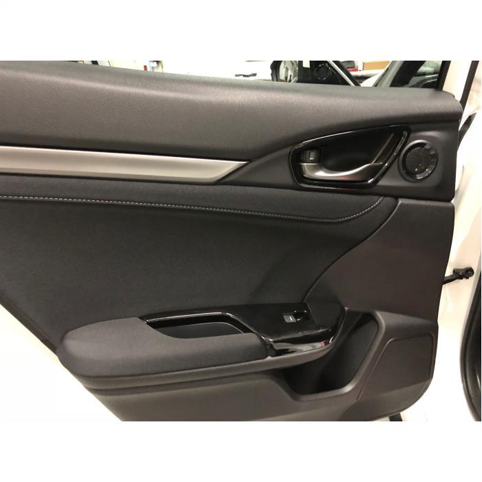 Honda civic fc5-fk7 Kapı Cam Düğme Kaplaması 2016+ PİANO BLACK