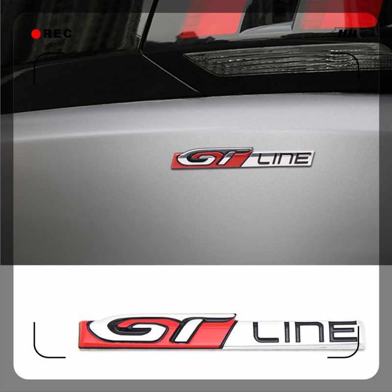 GT-Line Bagaj Logosu -renault-Peugeot uyumlu