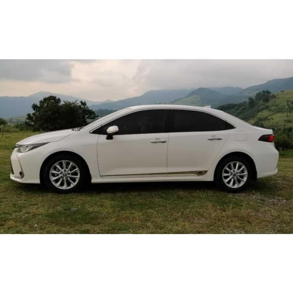 Toyota Corolla 2019-2020 Krom Kapı Çıta İthal Paslanmaz İTHAL