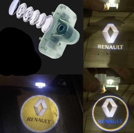 Renault Megane 4 Kapı Altı Lazer Logo Soketli (Geçmeli)