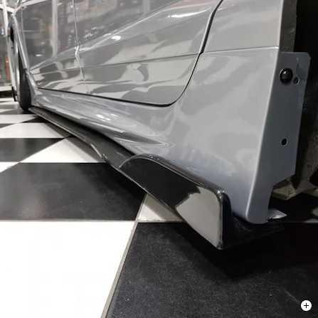 Honda Civic Fd6 Marşbiyel Altı Kulaklı Lip 2006-2012 (Ultra Piano Black)