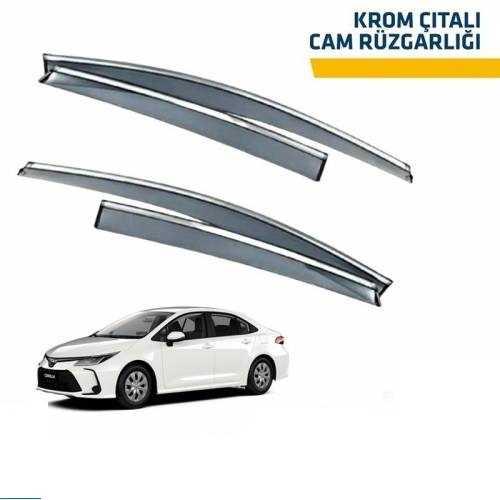 Corolla 2019 2020 2021 Krom Çıta Cam Rüzgarlığı