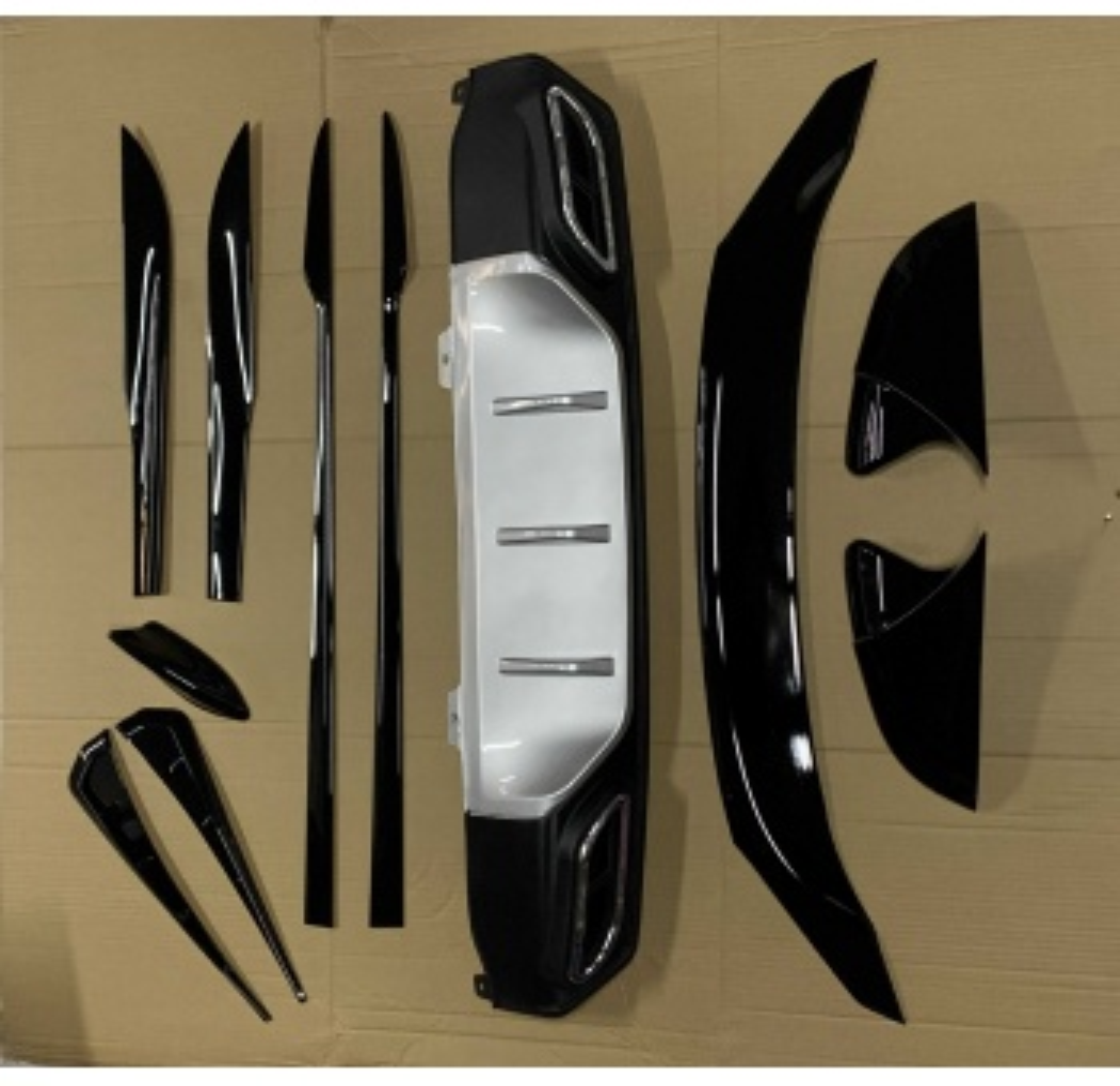 Honda Civic FC5 Aksesuar Kampanyası 6 Parça İTHAL