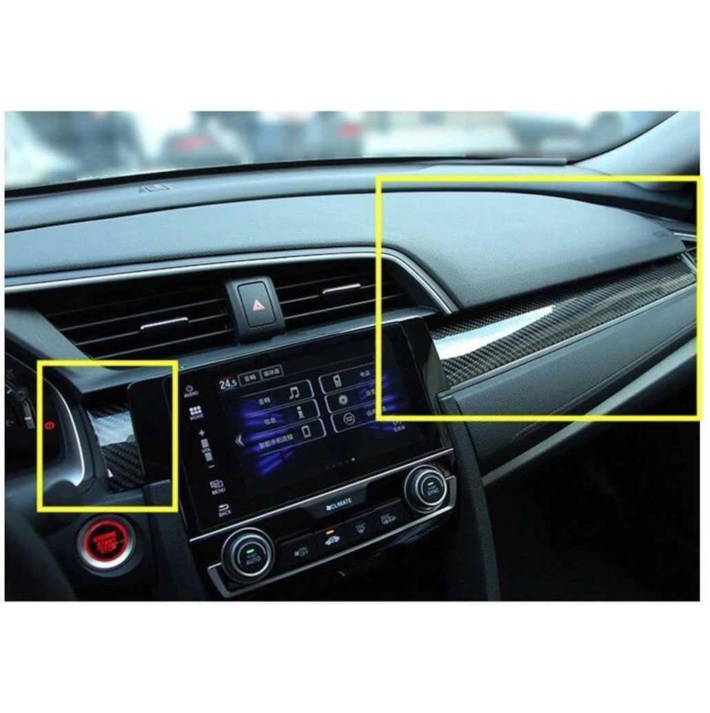 Honda Civic Karbon Göğüslük Kaplama Fc5 Fk7 2016-2021