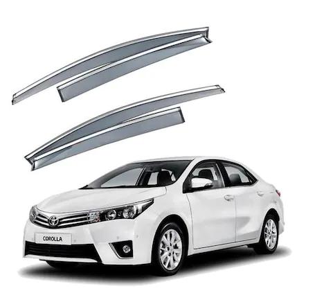 Corolla Toyota Corolla Kromlu Cam Rüzgarlık (ithal) AA Kalite