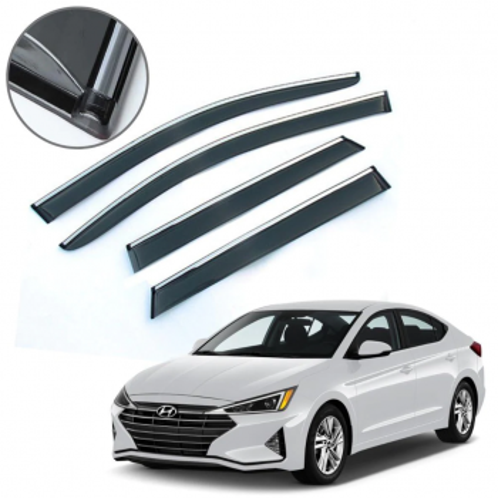 Hyundai Elentra 2020 Kromlu Cam Rüzgarlıgı (ithal) AA Kalite