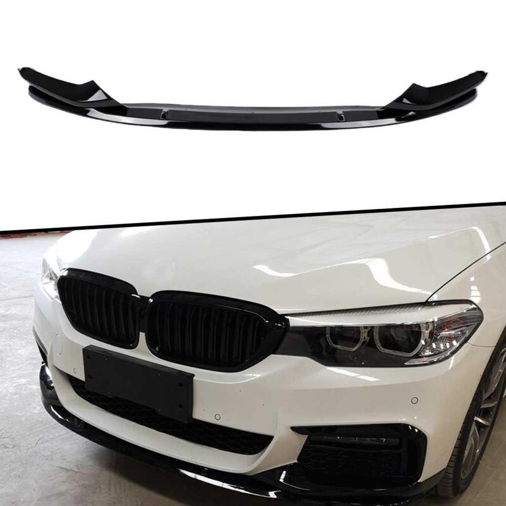 BMW G30 Piano Black 2 Parça Ön Tampon Eki Lip İTHAL Taiwan