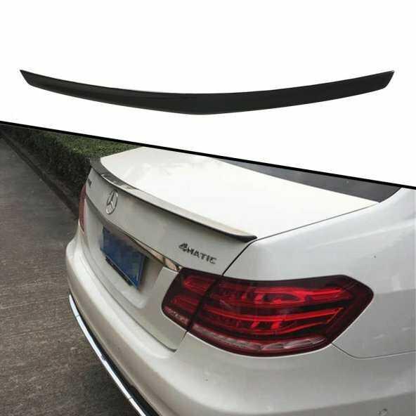 Mercedes W212 Boyalı Piona Black Boyalı Spoyler/Spoiler İTHAL