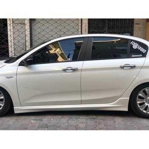 Fiat Egea Sedan  Marşpiel-marşbiel Seti sag sol Boyasız Plastik